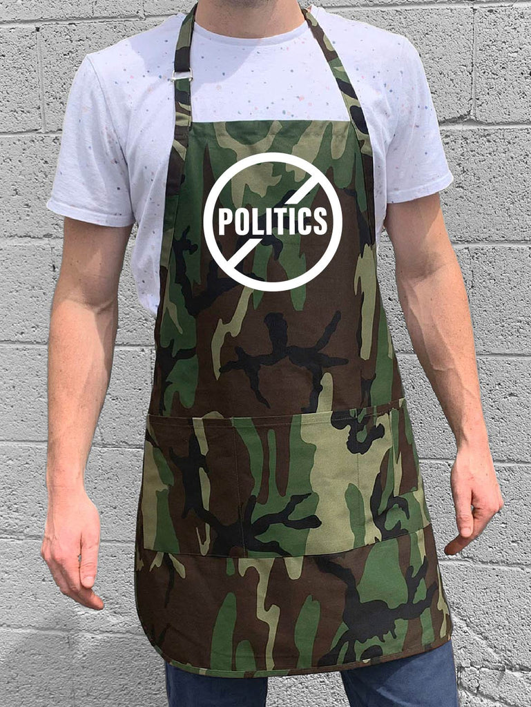 No Politics Apron