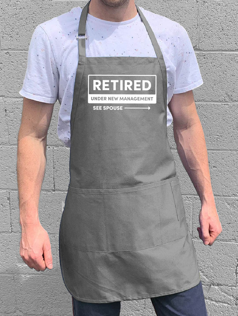 Retired: Under New Management Apron
