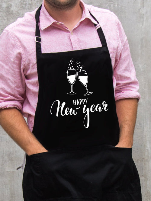 Happy New Year Apron