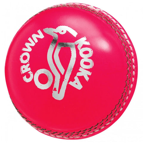 Kookaburra Crown Pink Cricket Ball (Dozen)