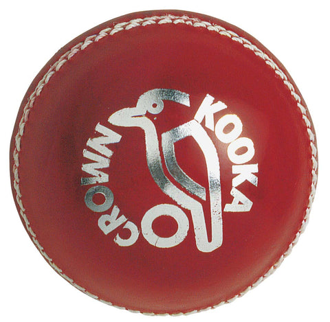 Kookaburra Crown Red Cricket Ball (Dozen)