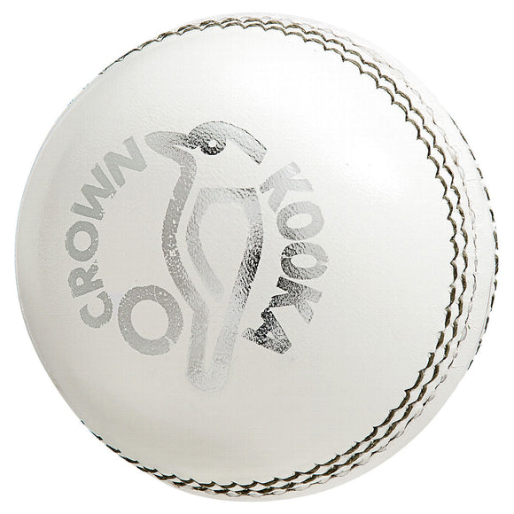Kookaburra Crown White Cricket Ball