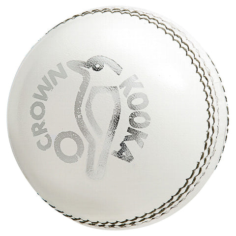 Kookaburra Crown White Cricket Ball (Dozen)