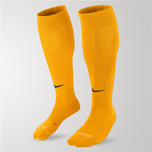 Nike Football Socks Gold