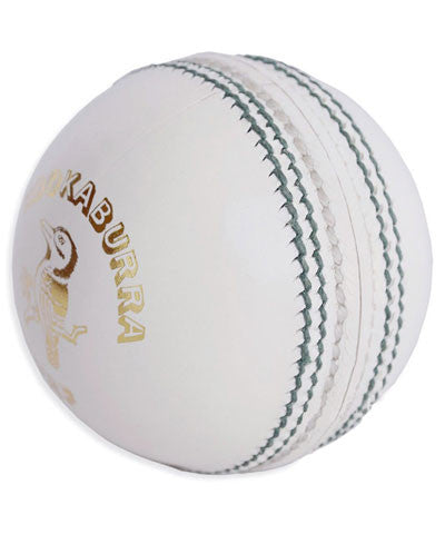 Kookaburra Red King White Cricket Ball (Dozen)