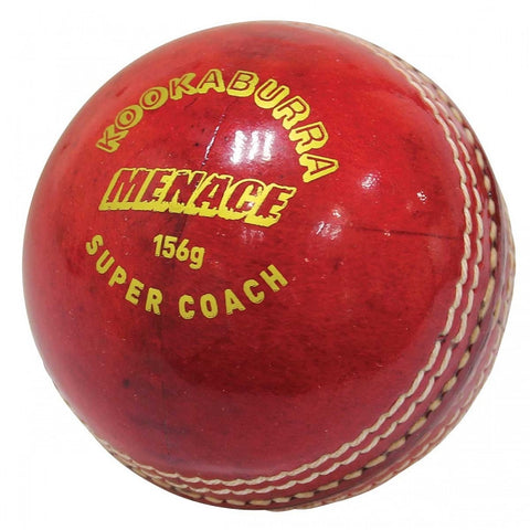 Kookaburra Menace Red Cricket Ball (Dozen)