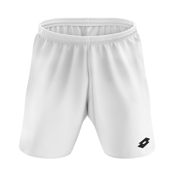 Lotto Trofeo White Football Shorts Senior
