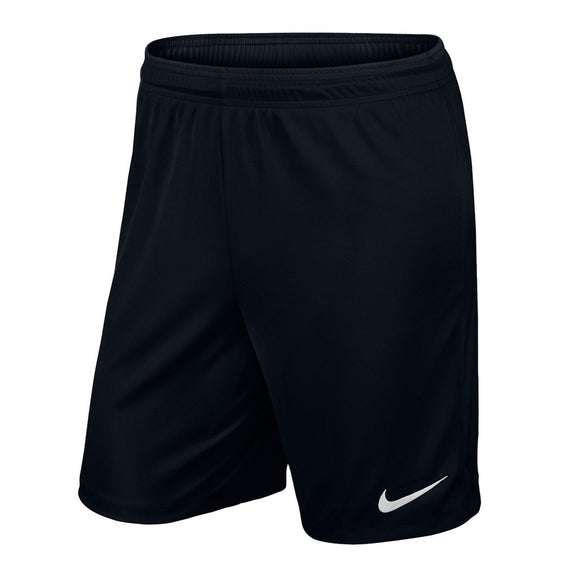 Nike Park Black Football Shorts Senior