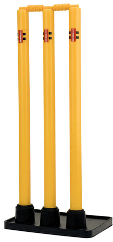 Gray-Nicolls Plastic Stumps with Rubber Base
