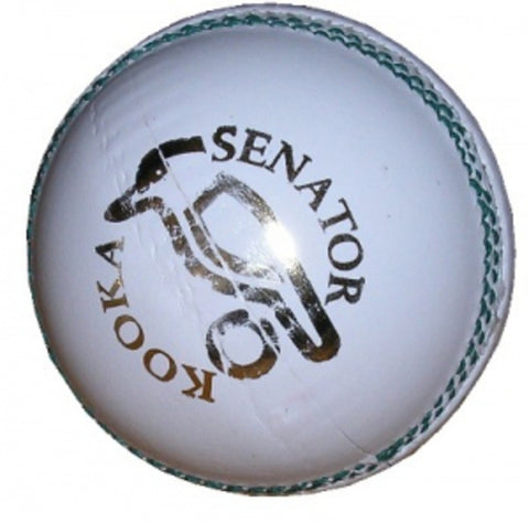 Kookaburra Senator White Cricket Ball (Dozen)