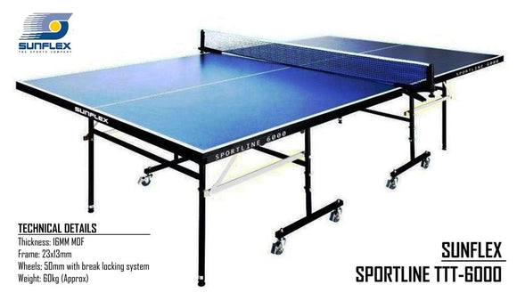 Sunflex Sportline 6000 Table Tennis Table