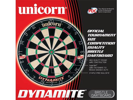 Unicorn Dynamite Bristle Dartboard