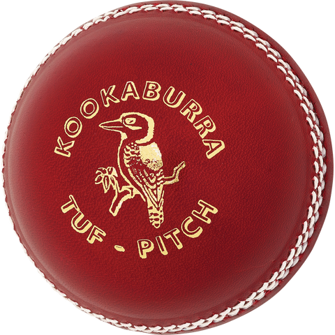 Kookaburra Tuf Pitch Red Cricket Ball (Dozen)