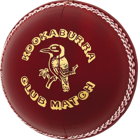 Kookaburra Club Match Red Cricket Ball