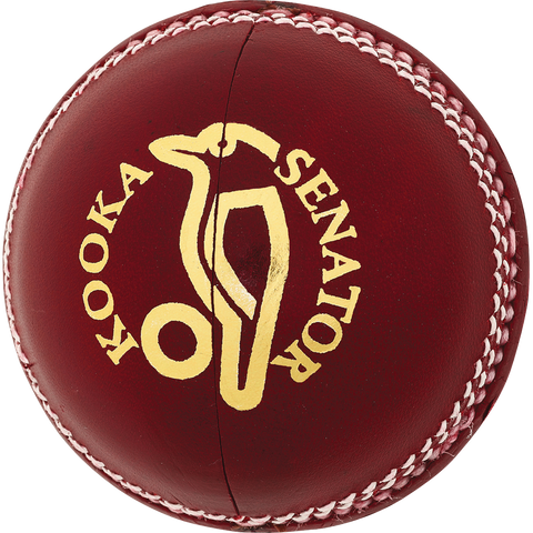 Kookaburra Senator Red Cricket Ball (Dozen)