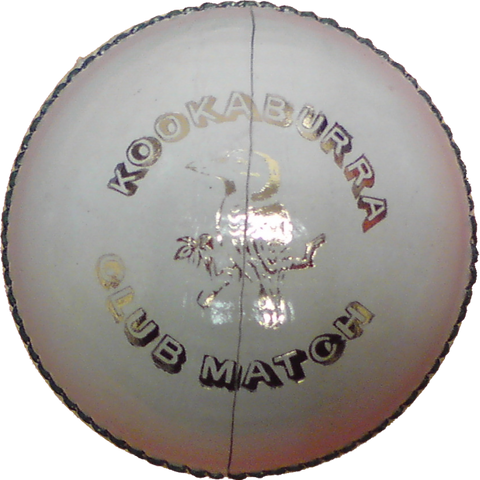 Kookaburra Club Match White Cricket Ball