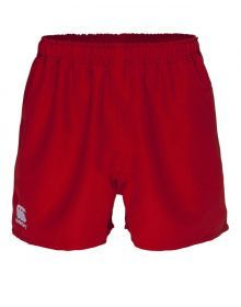 Red Canterbury Rugby Shorts Senior
