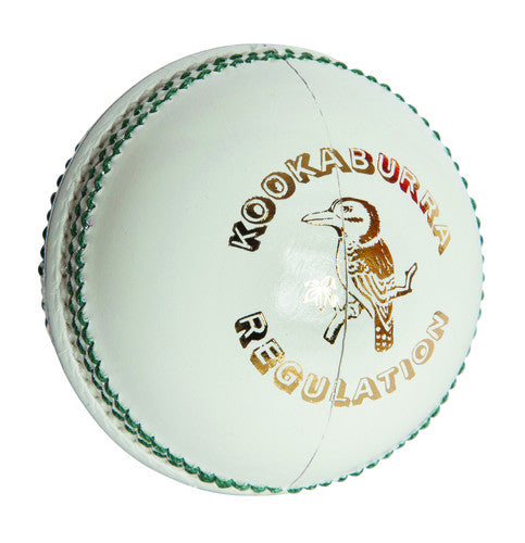 Kookaburra Regulation White Cricket Ball (Dozen)