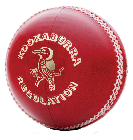 Kookaburra Regulation Red Cricket Ball (Dozen)