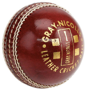 Gray-Nicolls Shield Red Cricket Ball (Dozen)