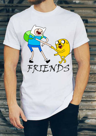 Adventure Time Best Friends Tişört