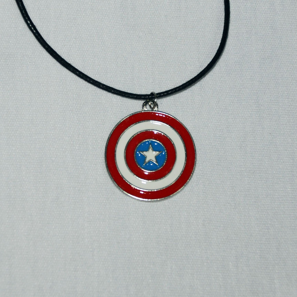 Captain America Shield Kolye