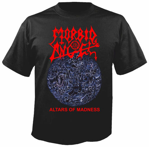 Morbid Angel Altars of Madness Siyah Tişört