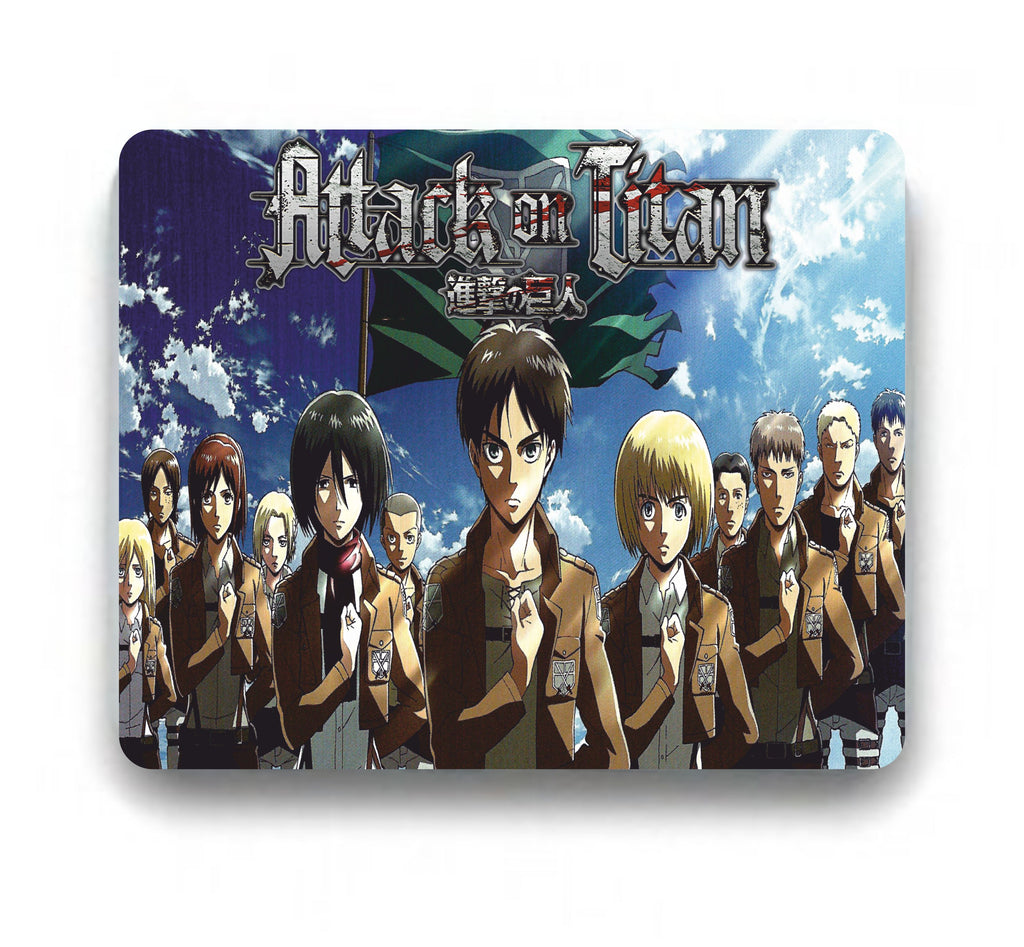 Attack On Titan Mousepad Characters