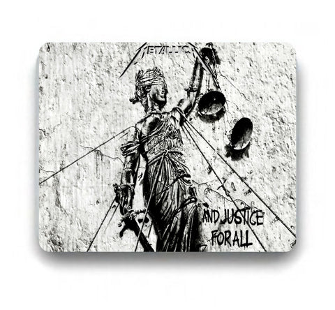 Metallica Mousepad And Justice For All