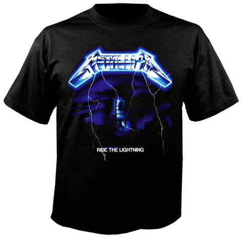 Metallica Ride The Lightning Siyah Tişört