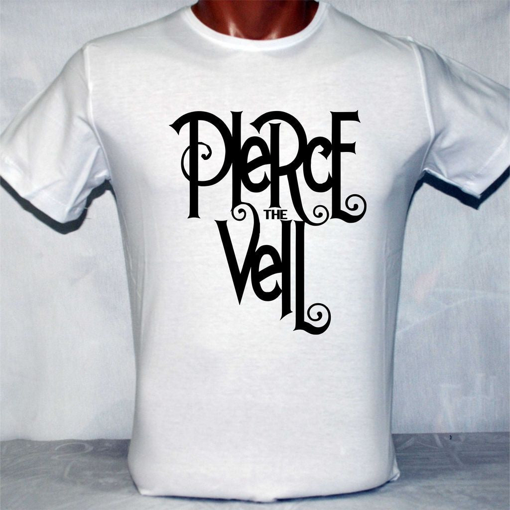 Pierce the Veil Logo Beyaz Tişört