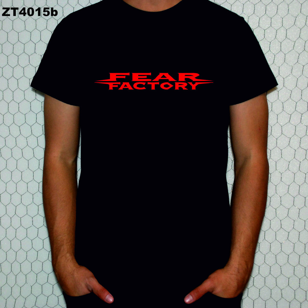 Fear Factory Logo tişört
