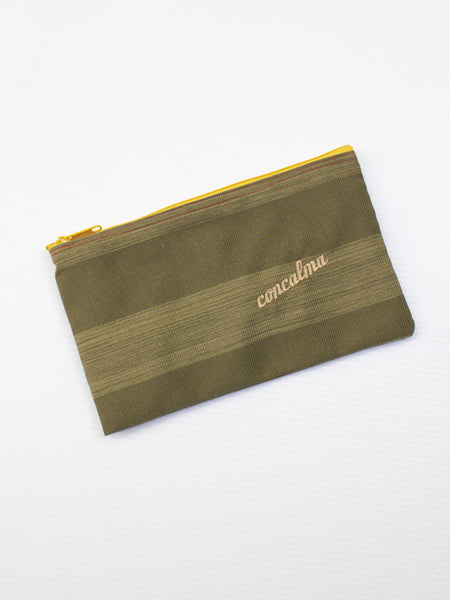 Pencil Case / Elegant Olive