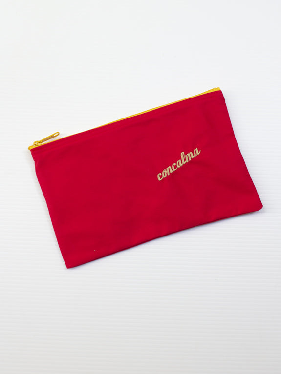 Pencil Case / Organic Red