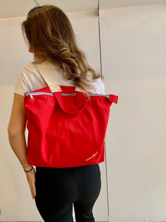 Backpack / Organic Tomato Red