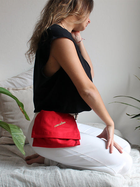 Hip Pouch / Organic Red