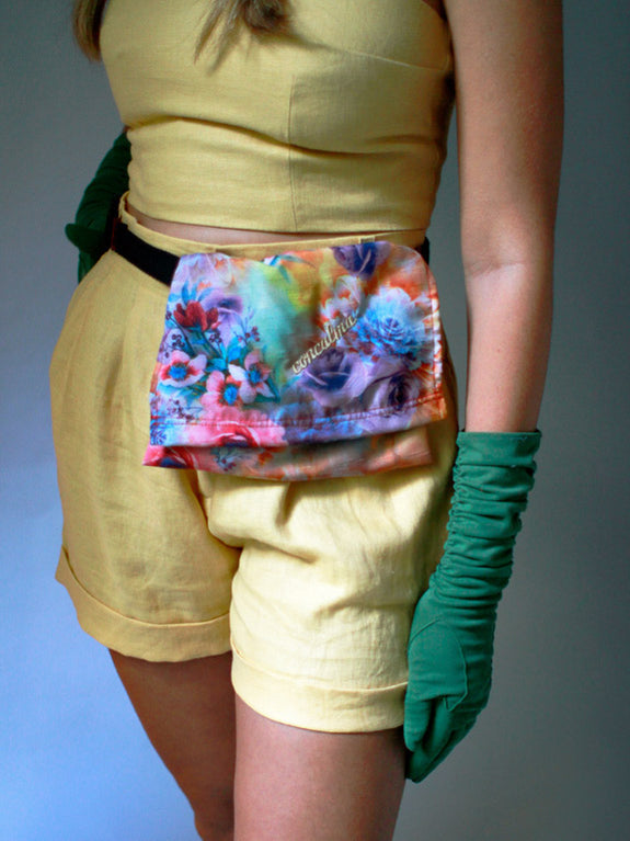 Hip Pouch / Flower Burst