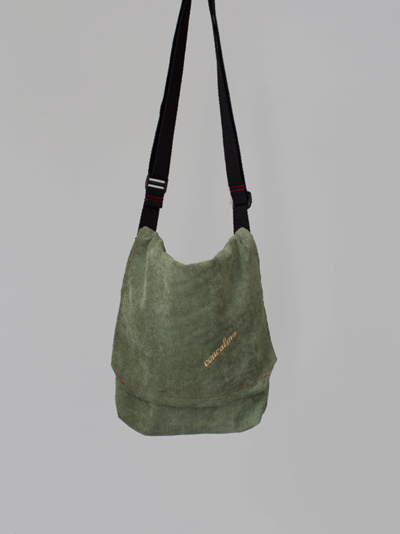 Messenger Adjustable/ Corduroy Menta