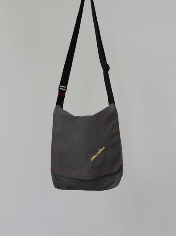 Messenger Adjustable / Grey Canvas