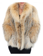 PRE-OWNED SMALL/MEDIUM CANADIAN LYNX FUR JACKET BY ADOLFO! SILKY SOFT & LIGHTWEIGHT! - from THE REAL FUR DEAL & DAVID APPEL FURS new and pre-owned online fur store!