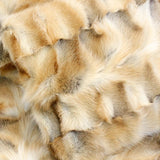 GOLDEN ISLAND FOX FUR & CASHMERE BLEND PILLOW - from THE REAL FUR DEAL & DAVID APPEL FURS new and pre-owned online fur store!