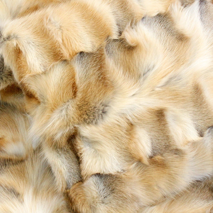 Golden Island Fox Fur Amp Cashmere Blend Throw The Real