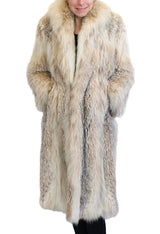 PRE-OWNED SMALL LONG CANADIAN LYNX FUR  COAT - SILKY, FLUFFY & LIGHTWEIGHT! - from THE REAL FUR DEAL & DAVID APPEL FURS new and pre-owned online fur store!