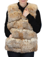 PRE-OWNED MEDIUM AMERICAN MONTANA LYNX FUR VEST - from THE REAL FUR DEAL & DAVID APPEL FURS new and pre-owned online fur store!