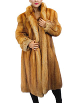 PRE-OWNED MEDIUM FOX FUR ⅞ COAT! SOFT & WARM! - from THE REAL FUR DEAL & DAVID APPEL FURS new and pre-owned online fur store!