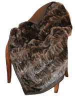 RUSSIAN BARGUZIN SABLE FUR THROW, BLANKET - from THE REAL FUR DEAL & DAVID APPEL FURS new and pre-owned online fur store!