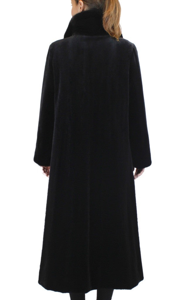 Mink Coat Value >> REVERSIBLE SHEARED & UNSHEARED FULLY LET OUT FEMALE MINK ...