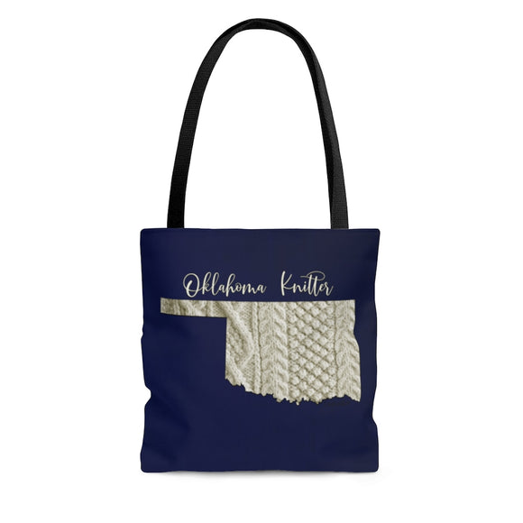 Oklahoma Knitter Cloth Tote Bag
