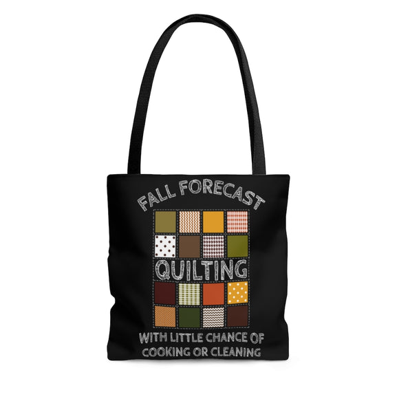 Fall Forecast: Quilting - Tote Bag