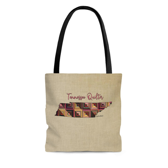 Tennessee Quilter Cloth Tote Bag